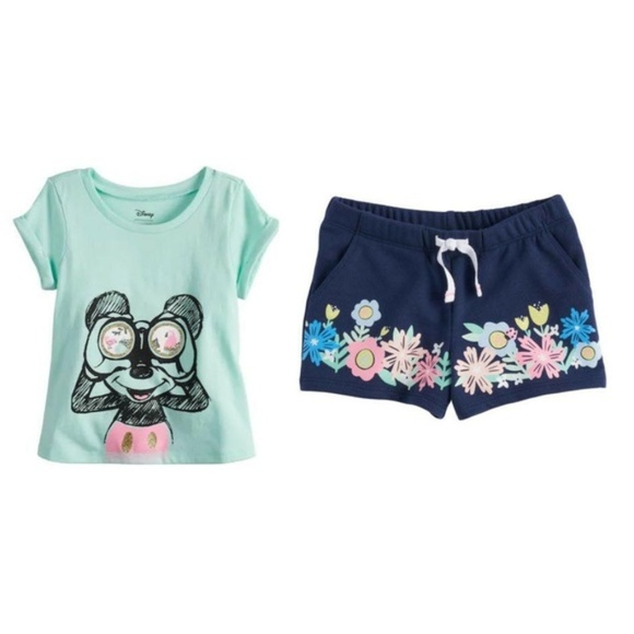 Disney Other - NWT Disney Mickey Mouse 2pc Short Set 18 months
